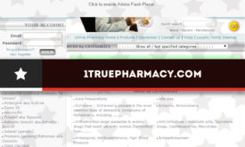1truepharmacy.com Review – A Drugstore with No Medication Prices and Very Limited Useful Information for a Buyer