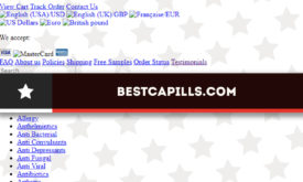 Bestcapills.com Review – Decent Online Drugstore Affiliate Is Closed