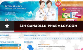 24h-canadian-pharmacy.com Review – An Overly Cheap Pharmacy with Unsupported CIPA Seal