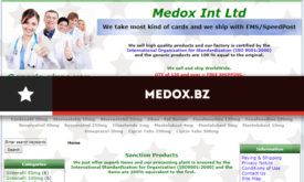 Medox.bz Review – Closed Store Without Existing Buyer Reviews