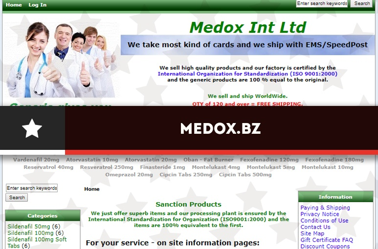 Medox bz Review – Closed Store Without Existing Buyer