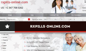 Rxpills-online.com Review - An Online Pharmacy with Great Prices but no Longer Operating