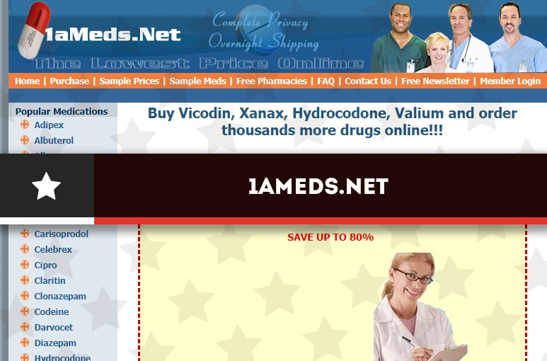 1ameds.net Review - An Online Drug Fulfillment Center with a Membership Fee