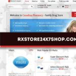 Rxstore24x7shop.com Review - A Drugstore that Appears to be Unpopular Among Customers