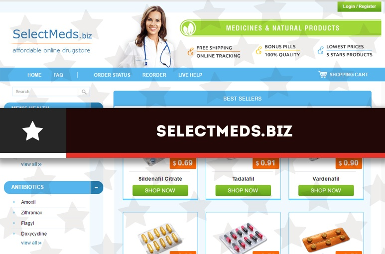Selectmeds.biz Review – Closed Pharmacy that Operated from the Russian Federation