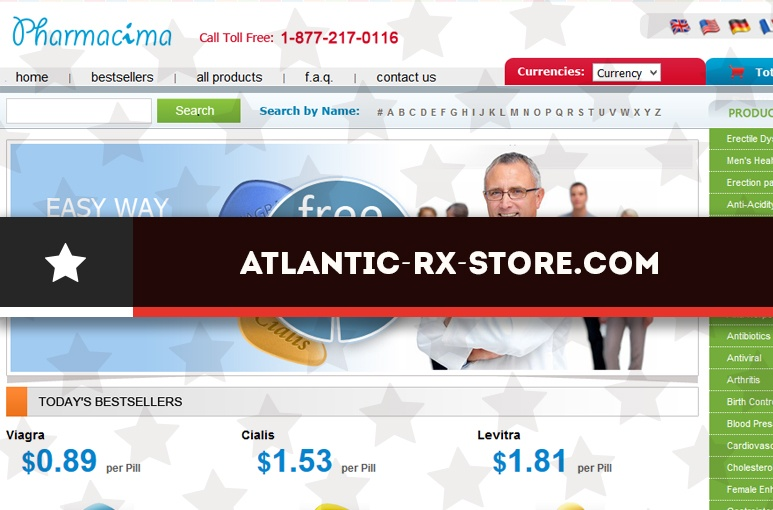 Atlantic-rx-store.com Review - An Online Pharmacy you Should not Accord your Trust
