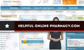 Helpful-online-pharmacy.com Review – Once a Busy Online Pharmacy Now Closed