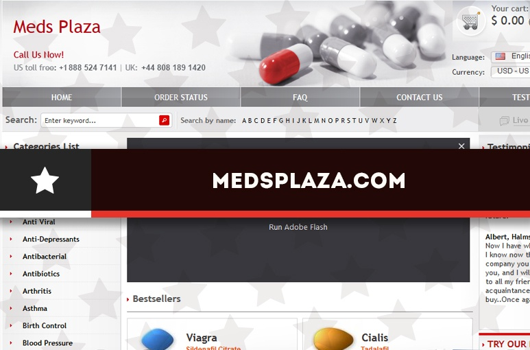 Medsplaza.com Review – A Pharmacy with an Unascertained Trustworthiness